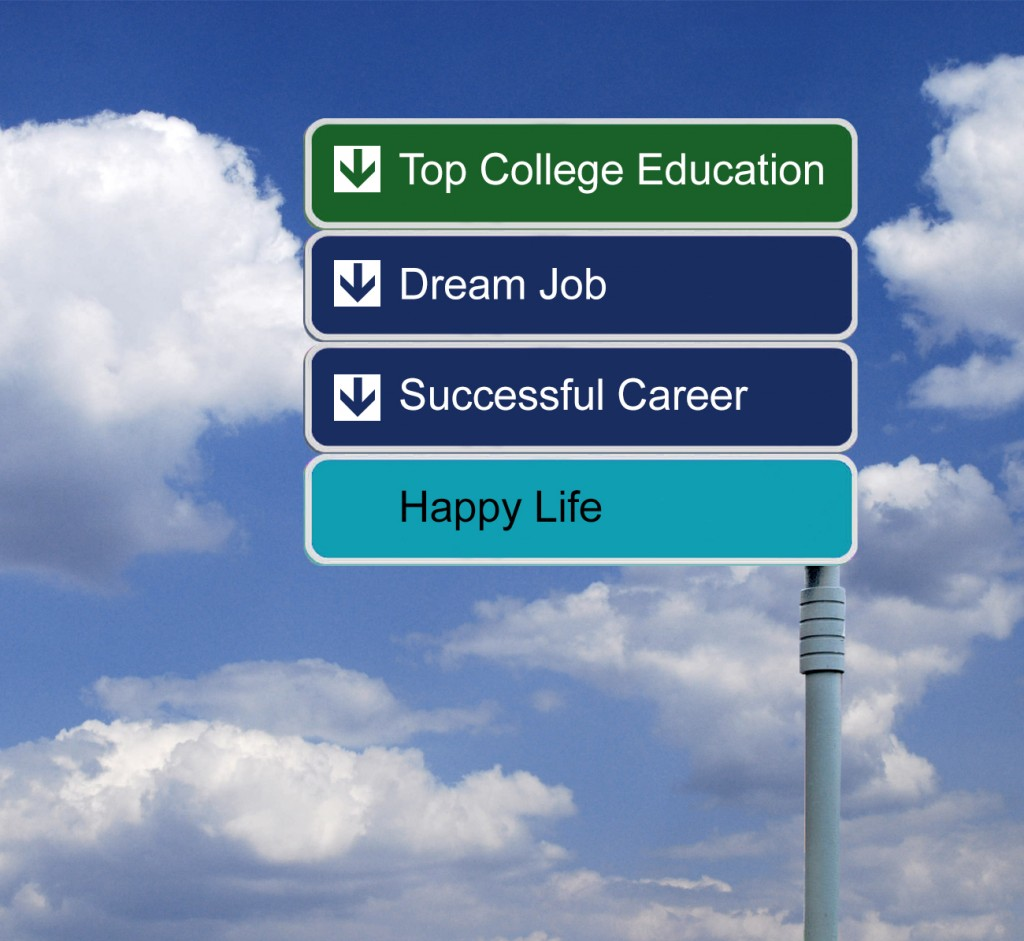 college-sign